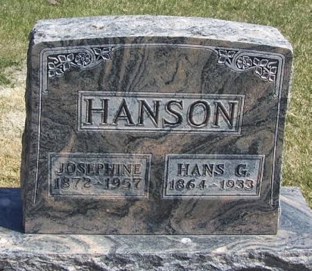 HANSON, JOSEPHINE - Winneshiek County, Iowa | JOSEPHINE HANSON