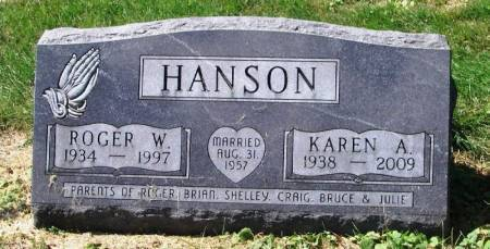 HANSON, KAREN A. - Winneshiek County, Iowa | KAREN A. HANSON