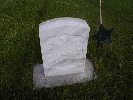 HARMON, JOHN - Winneshiek County, Iowa | JOHN HARMON