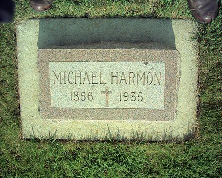 HARMON, MICHAEL - Winneshiek County, Iowa   MICHAEL HARMON