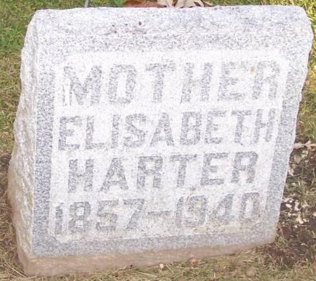 HARTER, ELISABETH - Winneshiek County, Iowa   ELISABETH HARTER