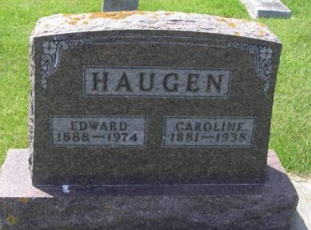 HAUGEN, CAROLINE - Winneshiek County, Iowa | CAROLINE HAUGEN