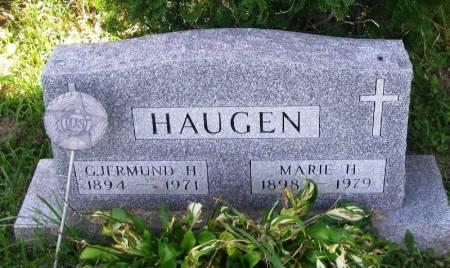HAUGEN, GJERMUND H. - Winneshiek County, Iowa | GJERMUND H. HAUGEN