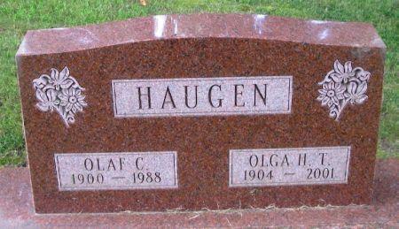 HAUGEN, OLAF C. - Winneshiek County, Iowa | OLAF C. HAUGEN