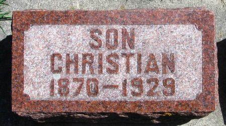 HAUKEDAHL, CHRISTIAN - Winneshiek County, Iowa | CHRISTIAN HAUKEDAHL
