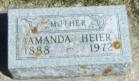 HEIER, AMANDA - Winneshiek County, Iowa | AMANDA HEIER