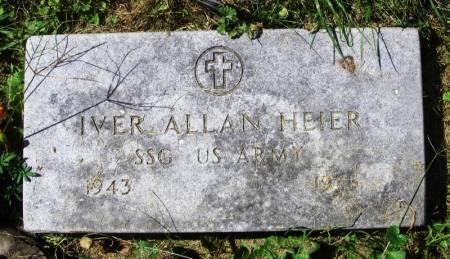 HEIER, IVER ALLAN - Winneshiek County, Iowa   IVER ALLAN HEIER