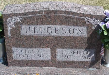 HELGESON, H ARTHUR - Winneshiek County, Iowa   H ARTHUR HELGESON