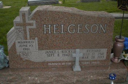 HELGESON, RICHARD - Winneshiek County, Iowa | RICHARD HELGESON