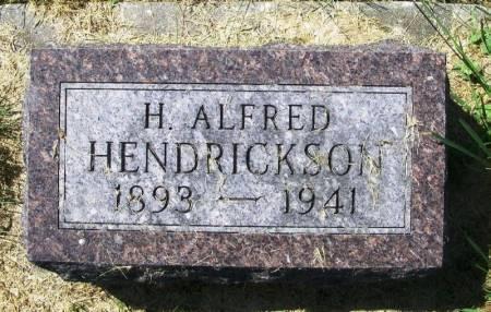 HENDRICKSON, H. ALFRED - Winneshiek County, Iowa | H. ALFRED HENDRICKSON