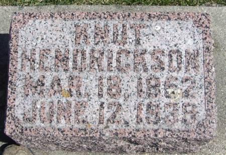HENDRICKSON, KNUT - Winneshiek County, Iowa | KNUT HENDRICKSON