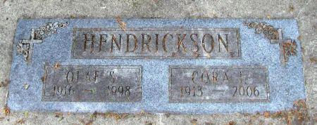 HENDRICKSON, OLAF S. - Winneshiek County, Iowa   OLAF S. HENDRICKSON