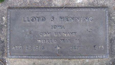 HENNING, LLOYD S. - Winneshiek County, Iowa | LLOYD S. HENNING