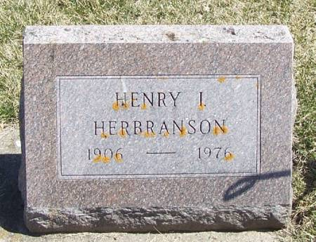 HERBRANSON, HENRY I - Winneshiek County, Iowa | HENRY I HERBRANSON