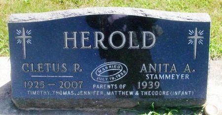 HEROLD, CLETUS PAUL - Winneshiek County, Iowa | CLETUS PAUL HEROLD