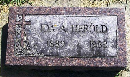 HEROLD, IDA A. - Winneshiek County, Iowa | IDA A. HEROLD