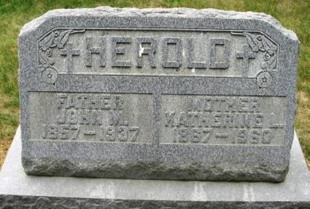 HEROLD, JOHN - Winneshiek County, Iowa | JOHN HEROLD