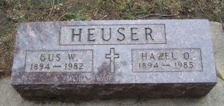 HEUSER, GUS W. - Winneshiek County, Iowa | GUS W. HEUSER