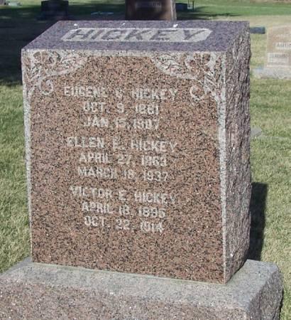 HICKEY, EUGENE G - Winneshiek County, Iowa | EUGENE G HICKEY