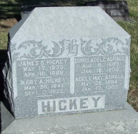 HICKEY, JAMES S - Winneshiek County, Iowa | JAMES S HICKEY