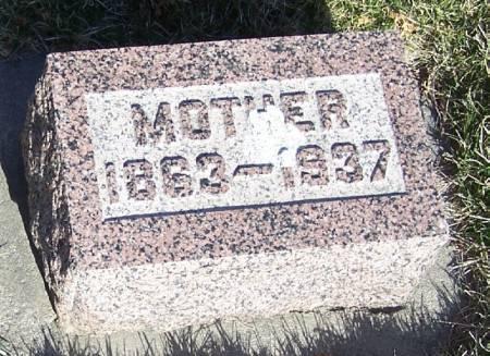 HICKEY, MOTHER - Winneshiek County, Iowa   MOTHER HICKEY