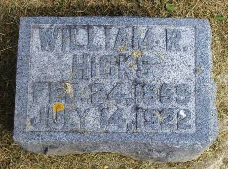 HICKS, WILLIAM R - Winneshiek County, Iowa | WILLIAM R HICKS