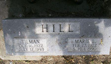 HILL, MARIE L. - Winneshiek County, Iowa | MARIE L. HILL