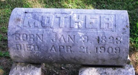 HILLEMAN, MOTHER - Winneshiek County, Iowa   MOTHER HILLEMAN