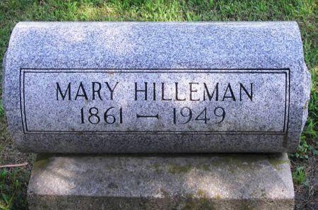 HILLEMAN, MARY - Winneshiek County, Iowa | MARY HILLEMAN