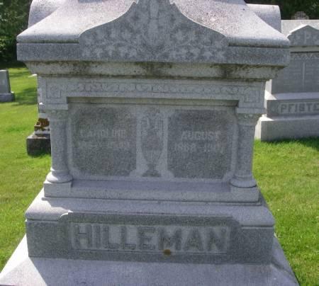 HILLEMAN, AUGUST - Winneshiek County, Iowa | AUGUST HILLEMAN