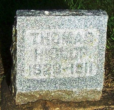 HISLOP, THOMAS - Winneshiek County, Iowa | THOMAS HISLOP