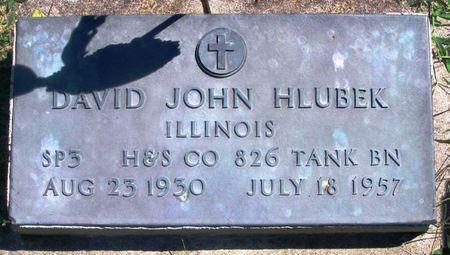 HLUBEK, DAVID JOHN - Winneshiek County, Iowa | DAVID JOHN HLUBEK