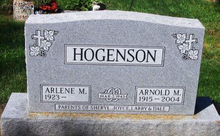 HOGENSON, ARNOLD M. - Winneshiek County, Iowa | ARNOLD M. HOGENSON
