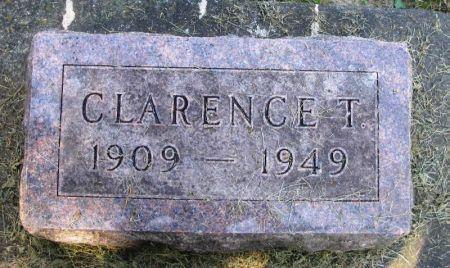HOGENSON, CLARENCE T. - Winneshiek County, Iowa   CLARENCE T. HOGENSON