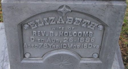 HOLCOMB, ELIZABETH - Winneshiek County, Iowa | ELIZABETH HOLCOMB