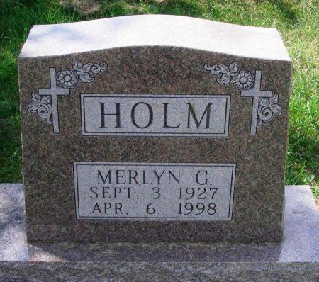 HOLM, MERLYN G. - Winneshiek County, Iowa | MERLYN G. HOLM
