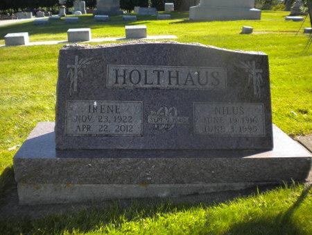HOLTHAUS, NILUS - Winneshiek County, Iowa   NILUS HOLTHAUS