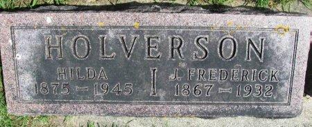 HOLVERSON, JOHN FREDERICK - Winneshiek County, Iowa | JOHN FREDERICK HOLVERSON