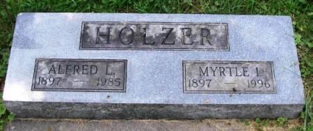 HOLZER, ALFRED L. - Winneshiek County, Iowa | ALFRED L. HOLZER