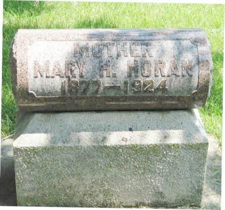 HORAN, MARY H. - Winneshiek County, Iowa   MARY H. HORAN