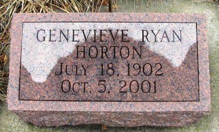 HORTON, GENEVIEVE - Winneshiek County, Iowa | GENEVIEVE HORTON