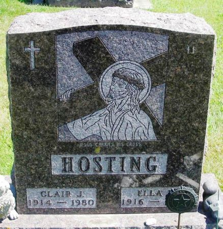 HOSTING, CLAIR J. - Winneshiek County, Iowa   CLAIR J. HOSTING