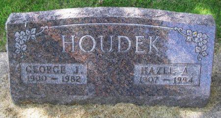 HOUDEK, HAZEL A. - Winneshiek County, Iowa | HAZEL A. HOUDEK