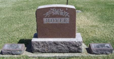 HOVER, EDWARD FAMILY STONE - Winneshiek County, Iowa | EDWARD FAMILY STONE HOVER