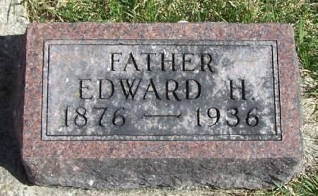 HOVER, EDWARD H - Winneshiek County, Iowa   EDWARD H HOVER