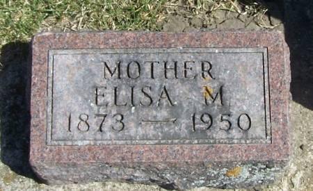 HOVER, ELISA M - Winneshiek County, Iowa   ELISA M HOVER