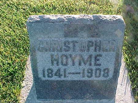 HOYME, CHRISTOPHER - Winneshiek County, Iowa | CHRISTOPHER HOYME