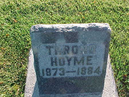 HOYME, THROND - Winneshiek County, Iowa | THROND HOYME