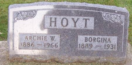 HOYT, ARCHIE W. - Winneshiek County, Iowa | ARCHIE W. HOYT
