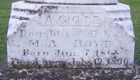 HOYT, AGGIE - Winneshiek County, Iowa | AGGIE HOYT